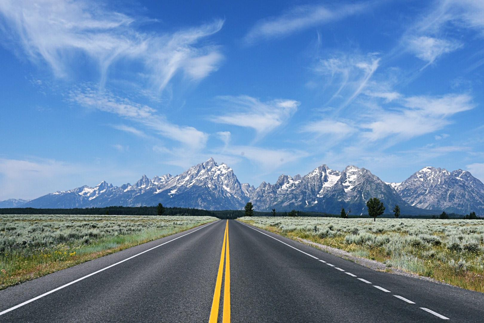 The Grand Tetons might be one of the most beautiful places on earth and the drive into the park from the north is breathtaking.  (Image: Rebecca Mongrain/Seattle Refined)