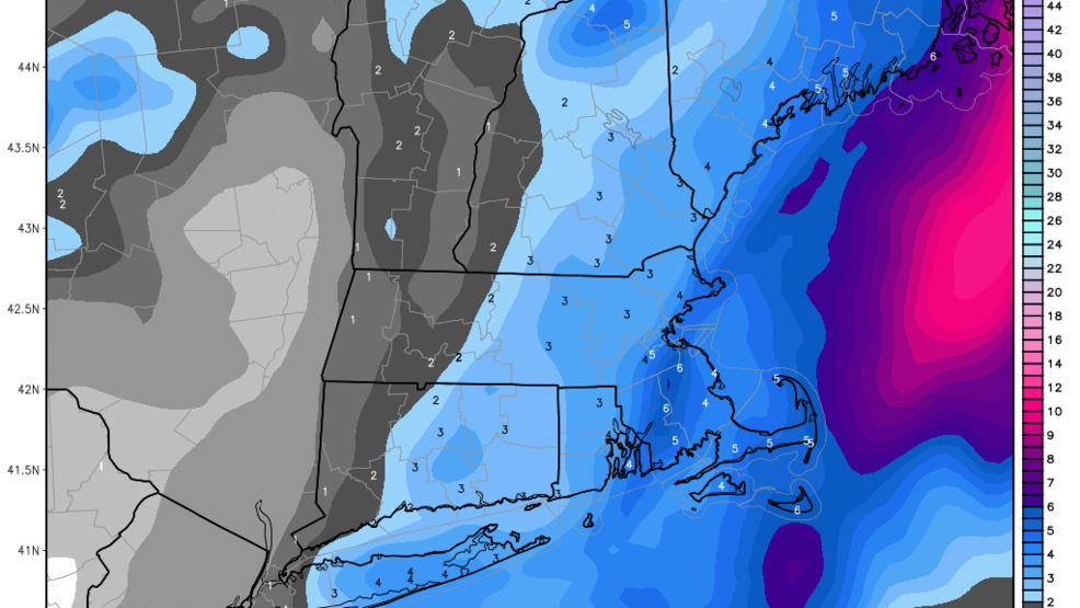 Thursday's storm bringing widespread snow and wind