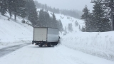 I-80 closed in both directions over Donner Summit as winter storms blanket Sierra