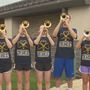Rah, rah, for Notre Dame: Marching Band kicks off the new school year
