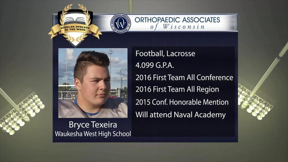 OAW 2017 Scholar Athlete Nominee: Bryce Texeira