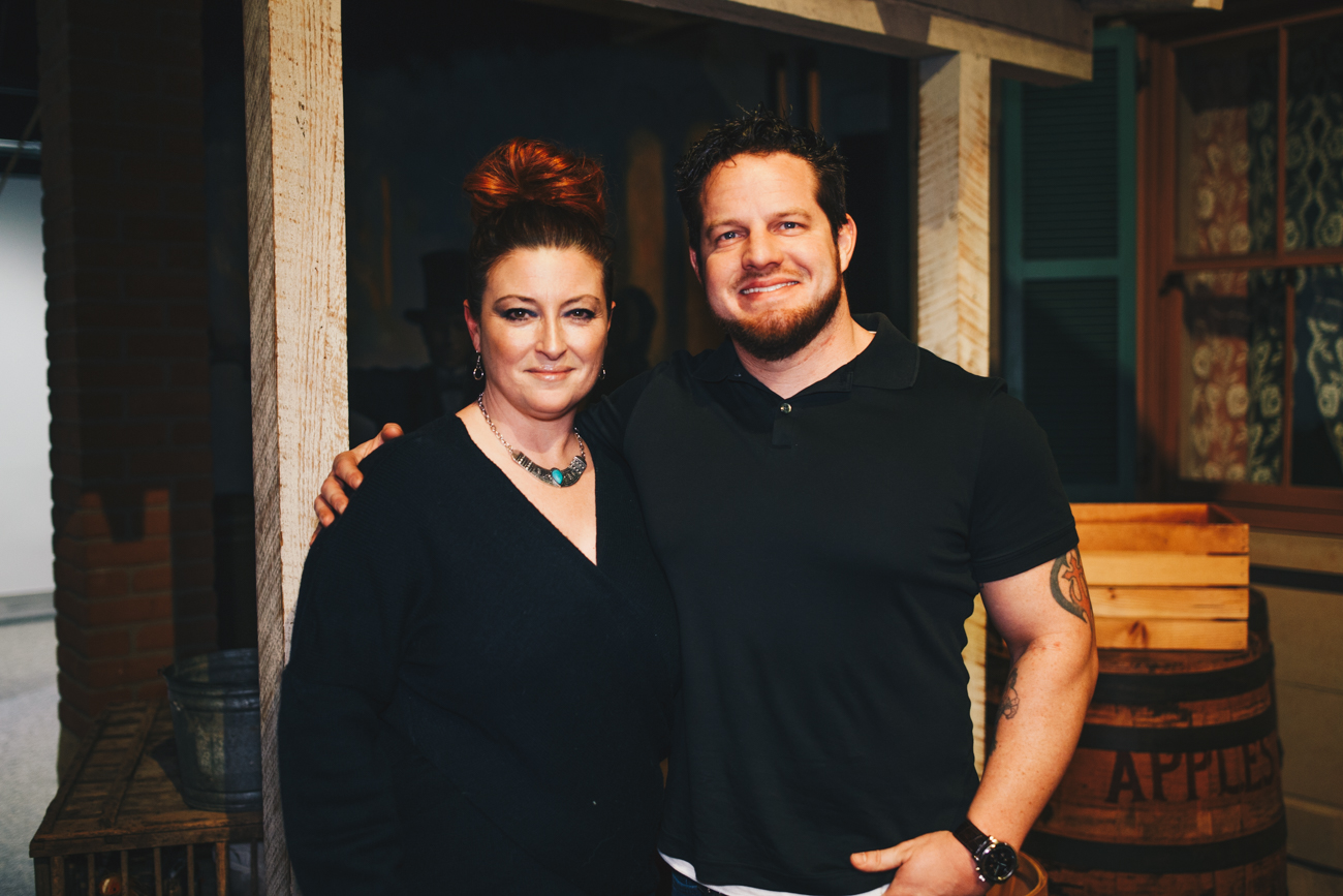 Nancy Harbert and Alex Long /{ }Image: Catherine Viox{ }// Published: 2.1.19