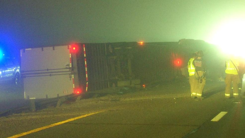 I-79 southbound lanes reopen after tractor-trailer crash near