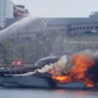 Crews respond to boat fire at city marina