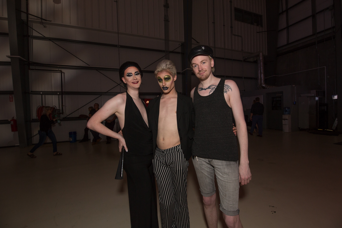 Mirelle Jana Divine, Jake Didier, and Seth McGrath /{ }Image: Catherine Viox{ }// Published: 5.4.19