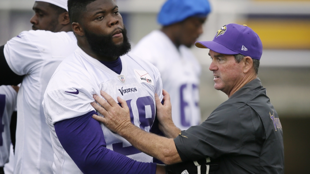 Mike Zimmer, Linval Joseph