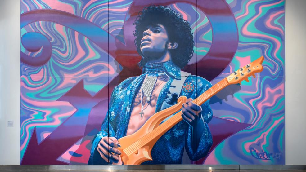 The 'Prince From Minneapolis' exhibition [purple] reigns at MoPOP