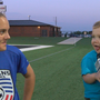 Feet for Finn: Veterans goalie shares special bond with child battling heart defects