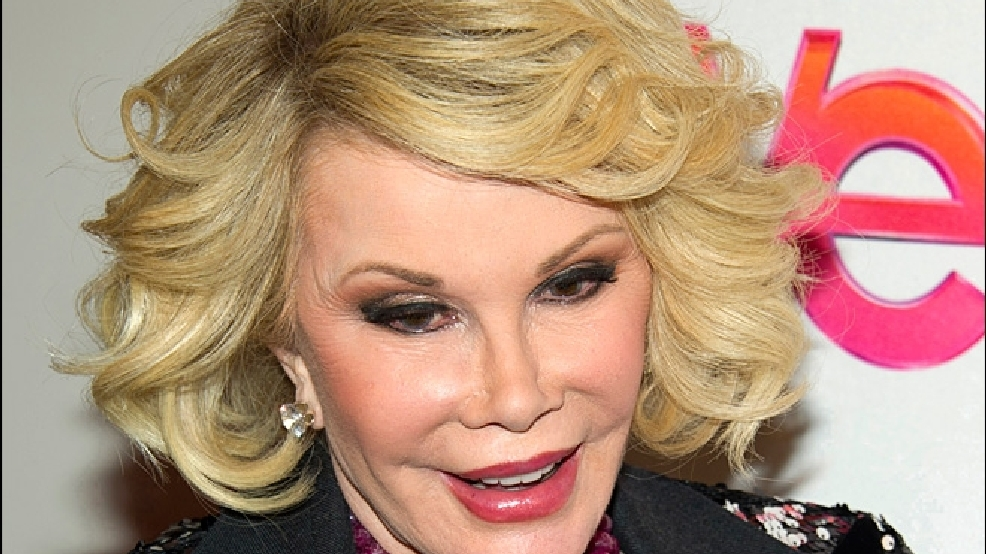 Report: Joan Rivers' doctor fired from clinic | KATU