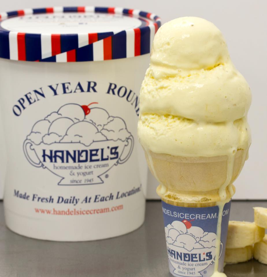 Handel's Banana Ice Cream / Image courtesy Handel's // Published: 8.22.18