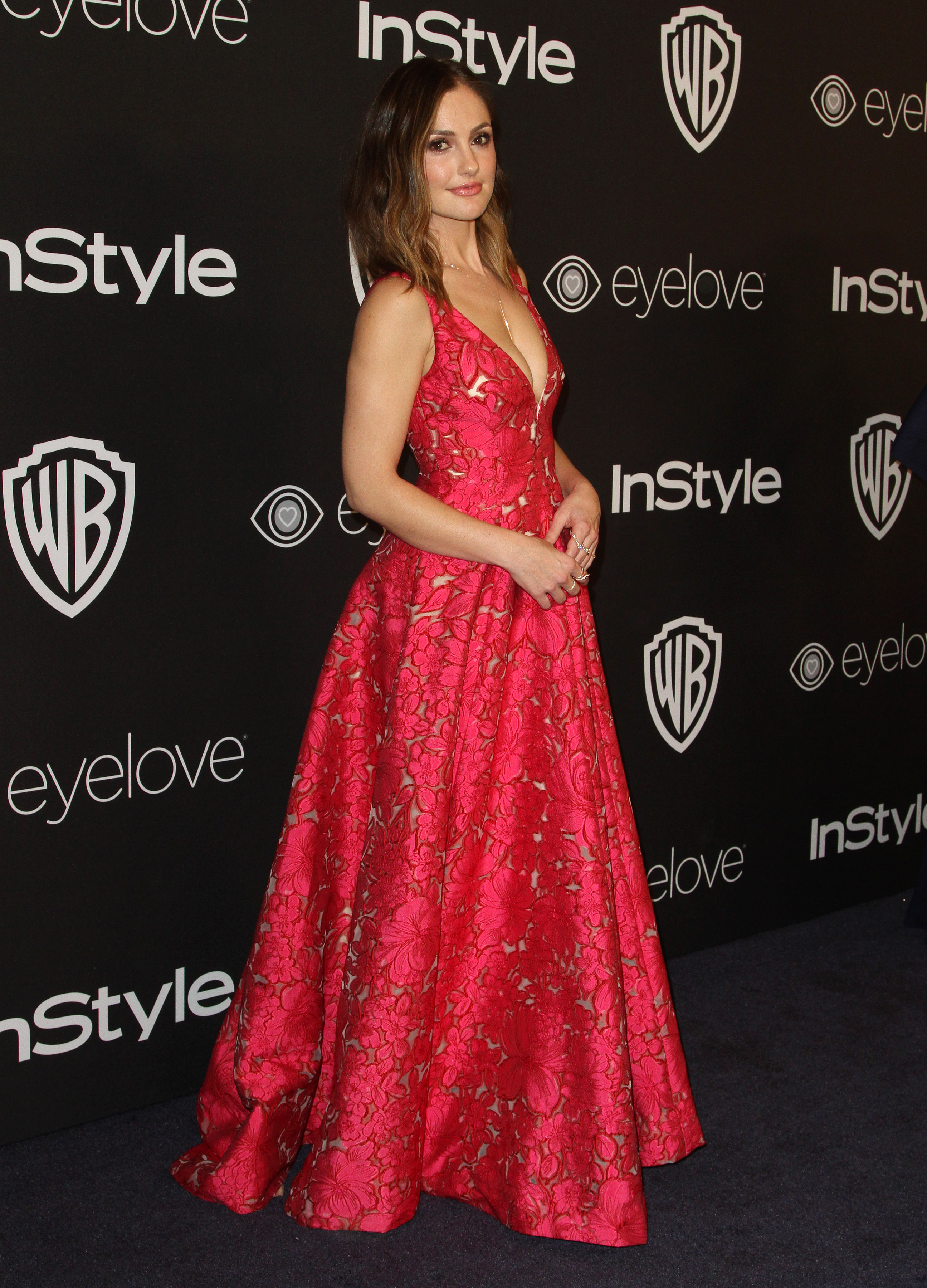 InStyle & Warner Bros. Pictures Golden Globes After Party 2017 held at the Beverly Hilton Hotel  Featuring: Minka Kelly Where: Los Angeles, California, United States When: 09 Jan 2017 Credit: Adriana M. Barraza/WENN.com