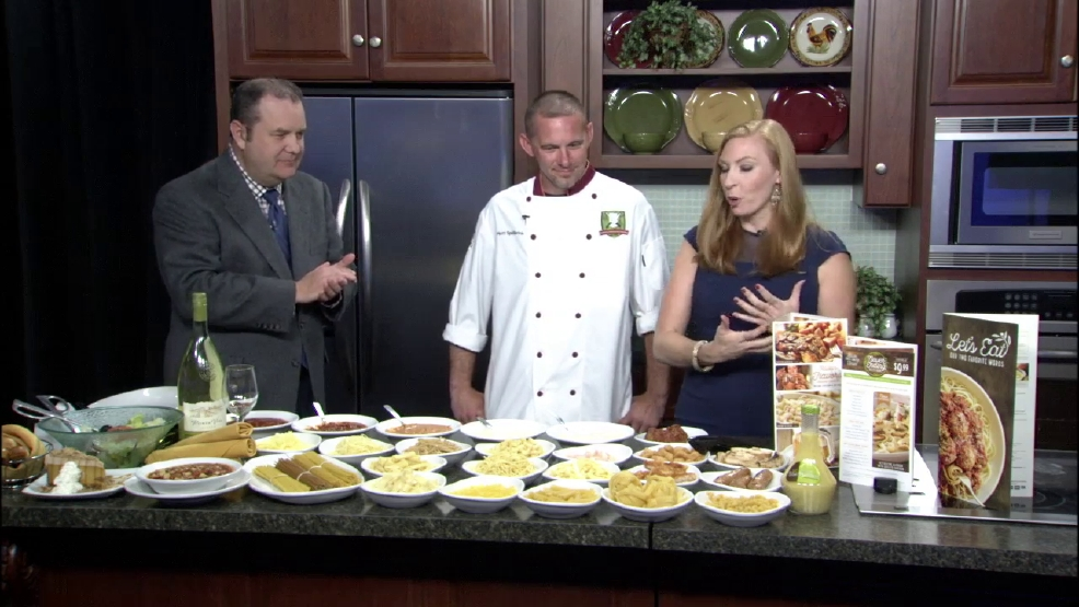 Olive garden celebrates national pasta day wics for Olive garden springfield illinois