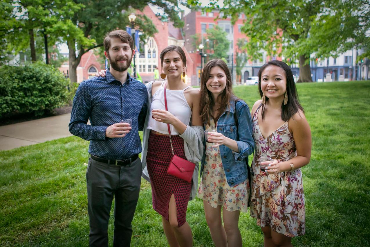 Mathew Wedig, Gemma Tidman, Molly Luebkemann, and Jen Lu / Image: Mike Bresnen Photography // Published: 5.18.18