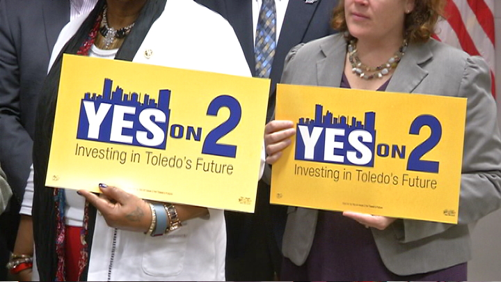 If passed, Issue 2 is expected to generate an additional $18.6 million for the city of Toledo, with a portion of the funds going to repairing Toledo roads. (WNWO)