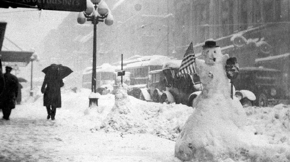 Photos: 100-year anniversary of Seattle's greatest one-day snowstorm