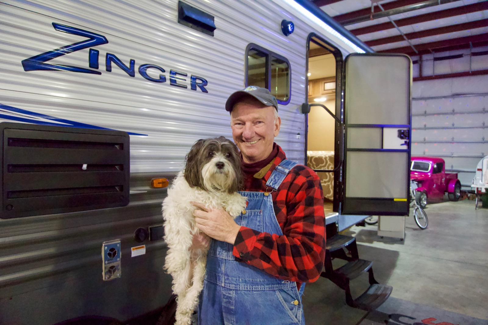 Roger Lee and his pup, Rudy / Image: Brian Planalp<p></p>
