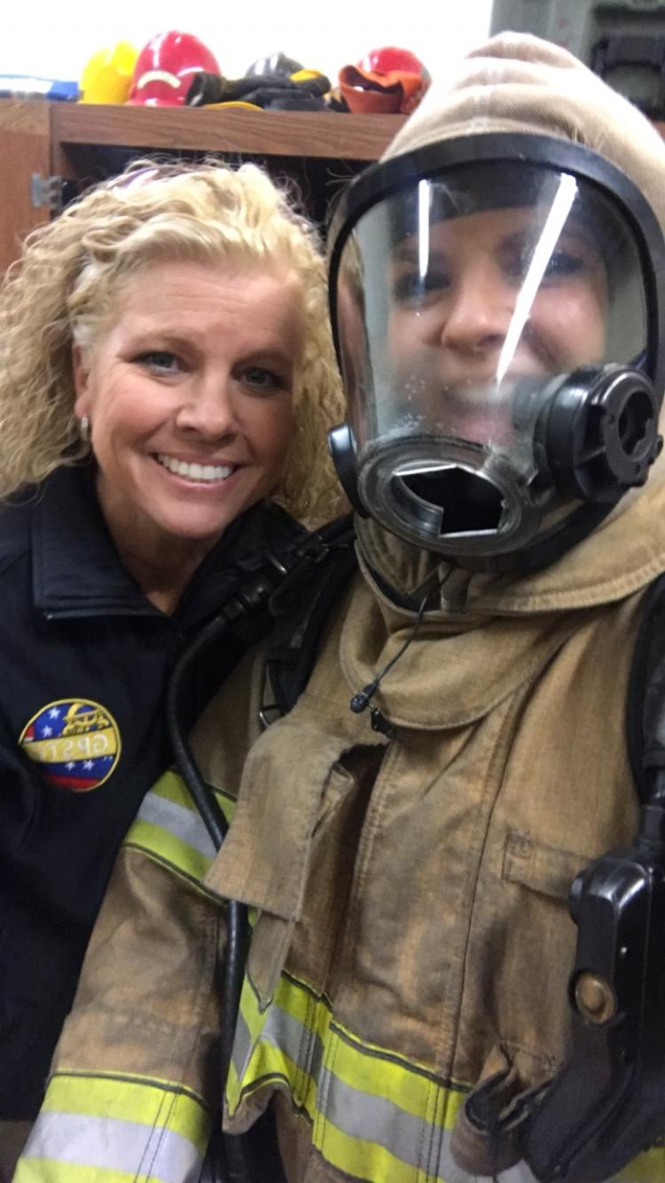 WGXA got an inside look Friday at firefighter training at the Georgia Public Safety Training Center in Forsyth/Claudia Coco (WGXA)<p></p>