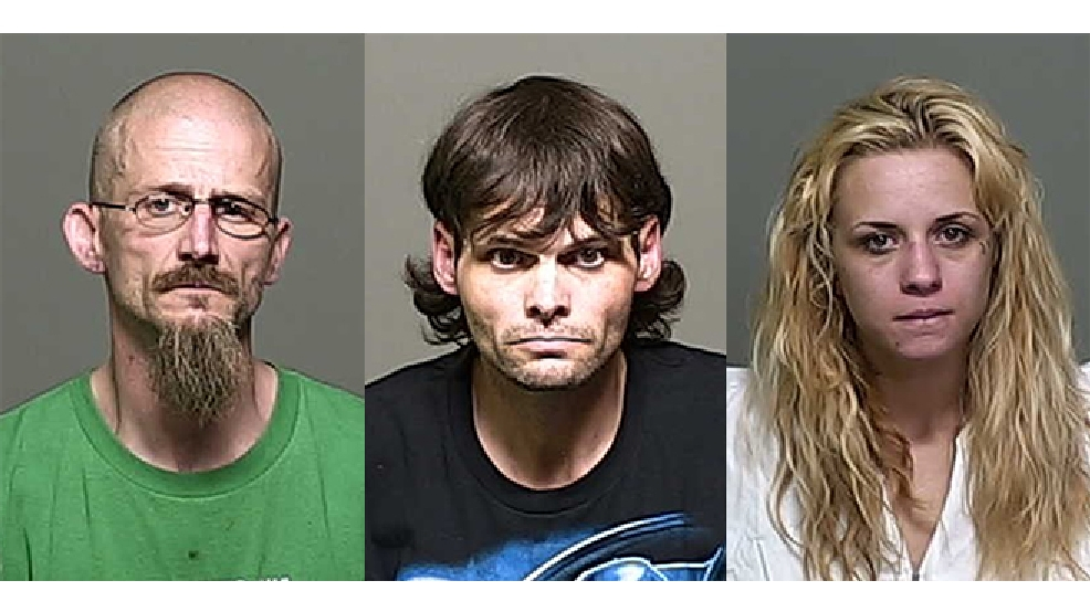 From left to right: Jason Koski, James Parchem, and Karisa Doe (Outagamie Co. Jail)