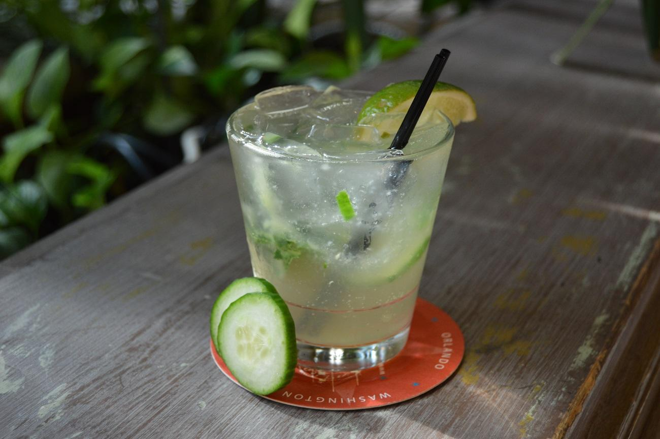 Cuba Libre's addition of cucumber and basil in the Mule Del Sol enhances the flavor profile and seasonality of an already refreshing and earthy cocktail. (Image: Courtesy Cuba Libre)