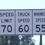 Senate OKs higher speed limits on rural highways