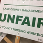 Lane County worker's strike to begin Wednesday
