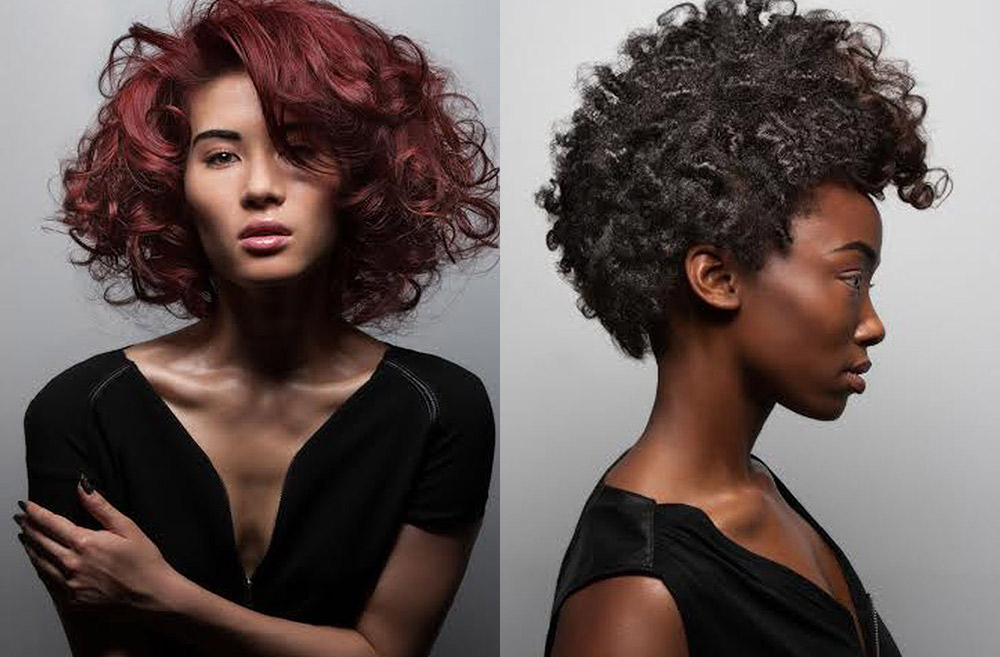 Spring Hair Trends for 2015 include texture, bright colors and bobs. (Image: Vann Edge Salon)