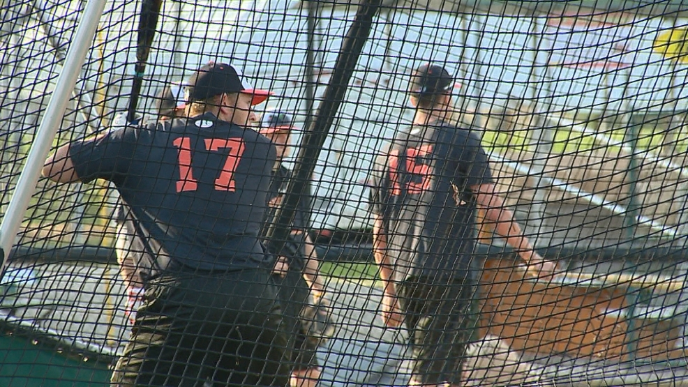 Green Bay Bullfrogs prepare for their Tuesday night season opener.