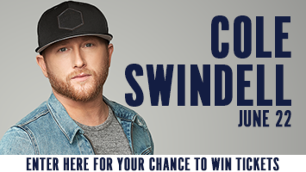 Cole Swindell Ticket Giveaway