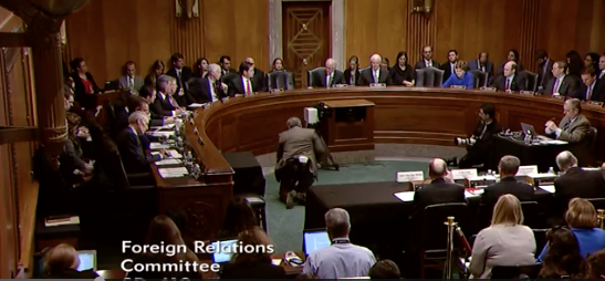 Photo: Senate Foreign Relations Committee