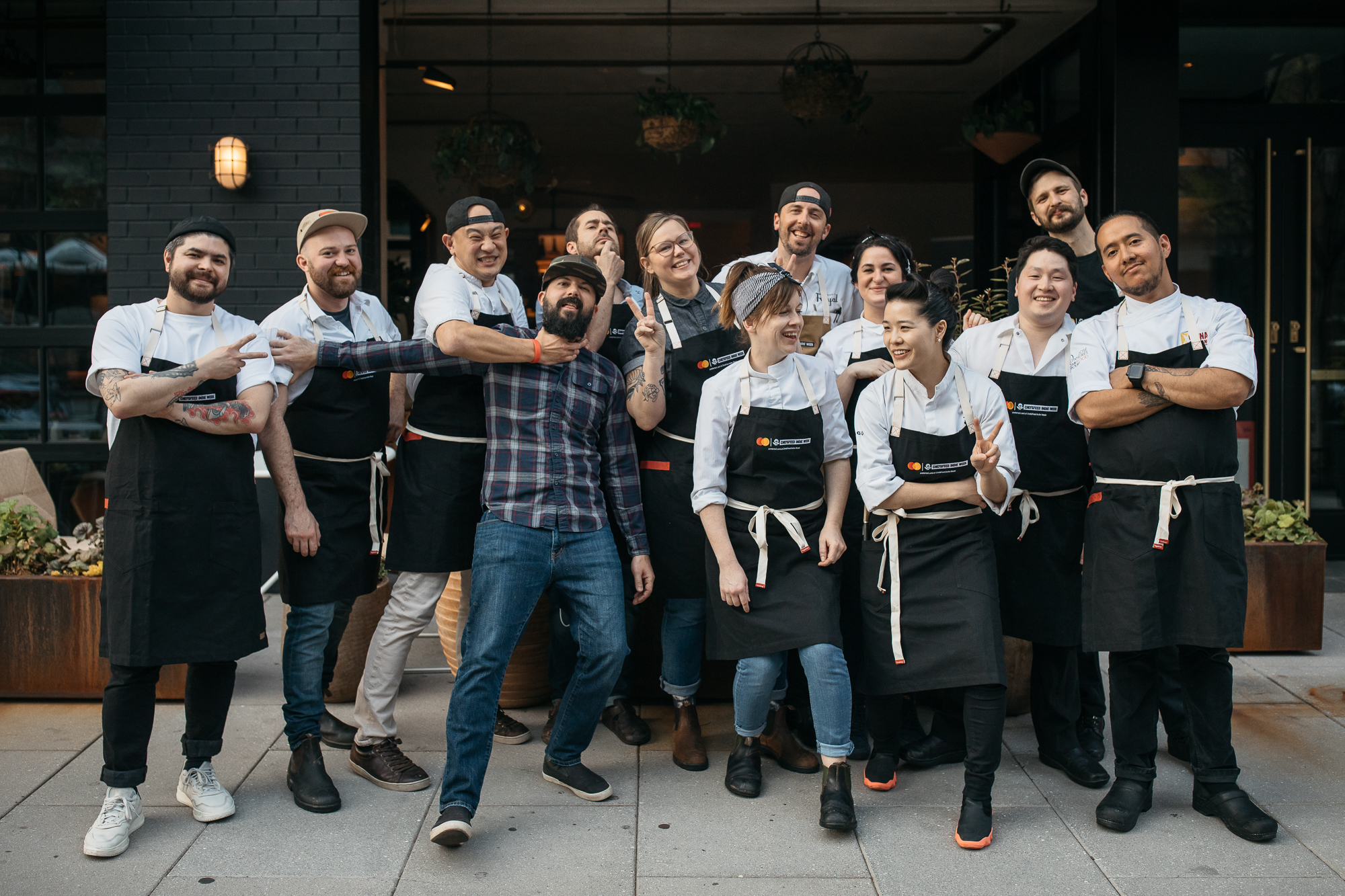 By far the best part of the event (well, after the incredible food, of course)was seeing the chefs letting loose, having fun with guests, and most importantly, each other! (Image: Betty Clicker Photography)