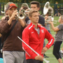 Strut your stuff! Drum Major at Ohio State prepares for first game of the season