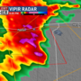 Tornado warning active for multiple counties