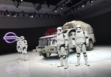 Photo Gallery: Nissan Star Wars Display at the 2017 LA Auto Show