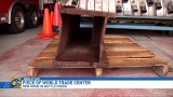Piece of World Trade Center has new home in Battle Creek