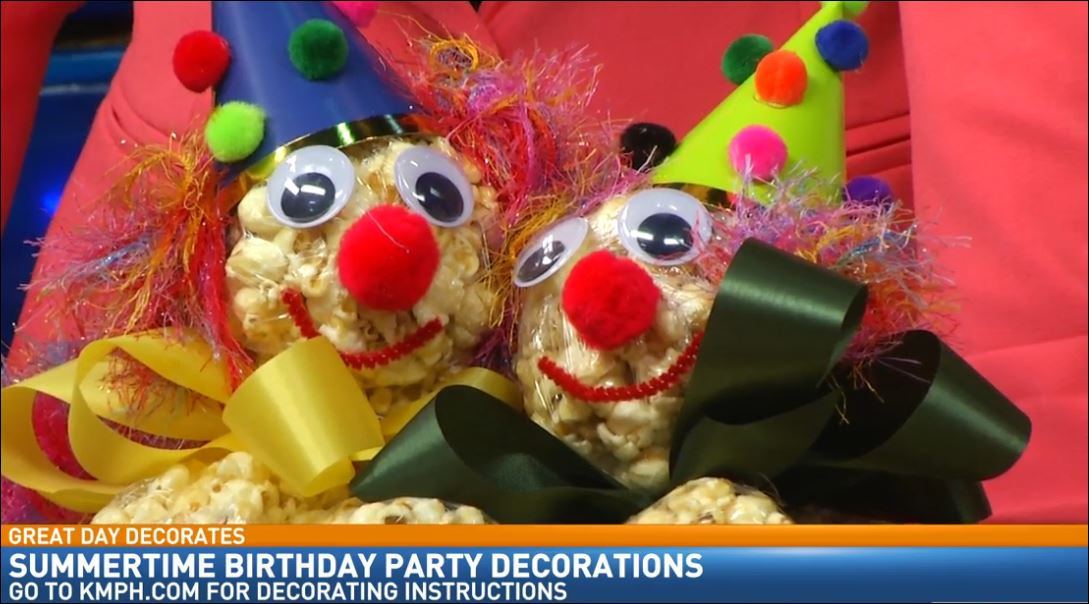 Birthday Party Decorating with Doug Alves: Popcorn