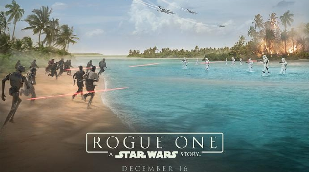 New video takes you behind the scenes of 'Rogue One: A Star Wars Story'