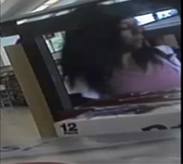PBSO searching for a suspect accused of using stolen credit cards. (PBSO)