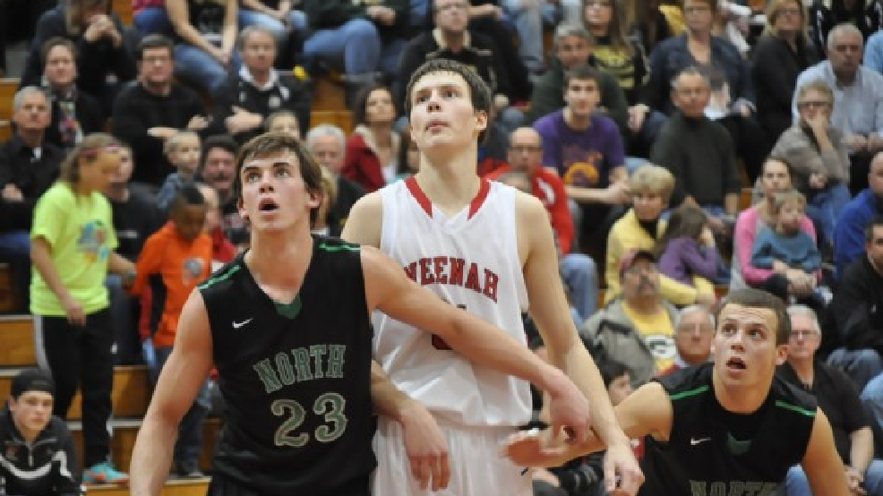 Oshkosh North hosts Neenah on Tuesday in a big basketball game. (Doug Ritchay/WLUK)