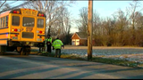School bus carrying students rear-ended by pick-up truck in Trenton