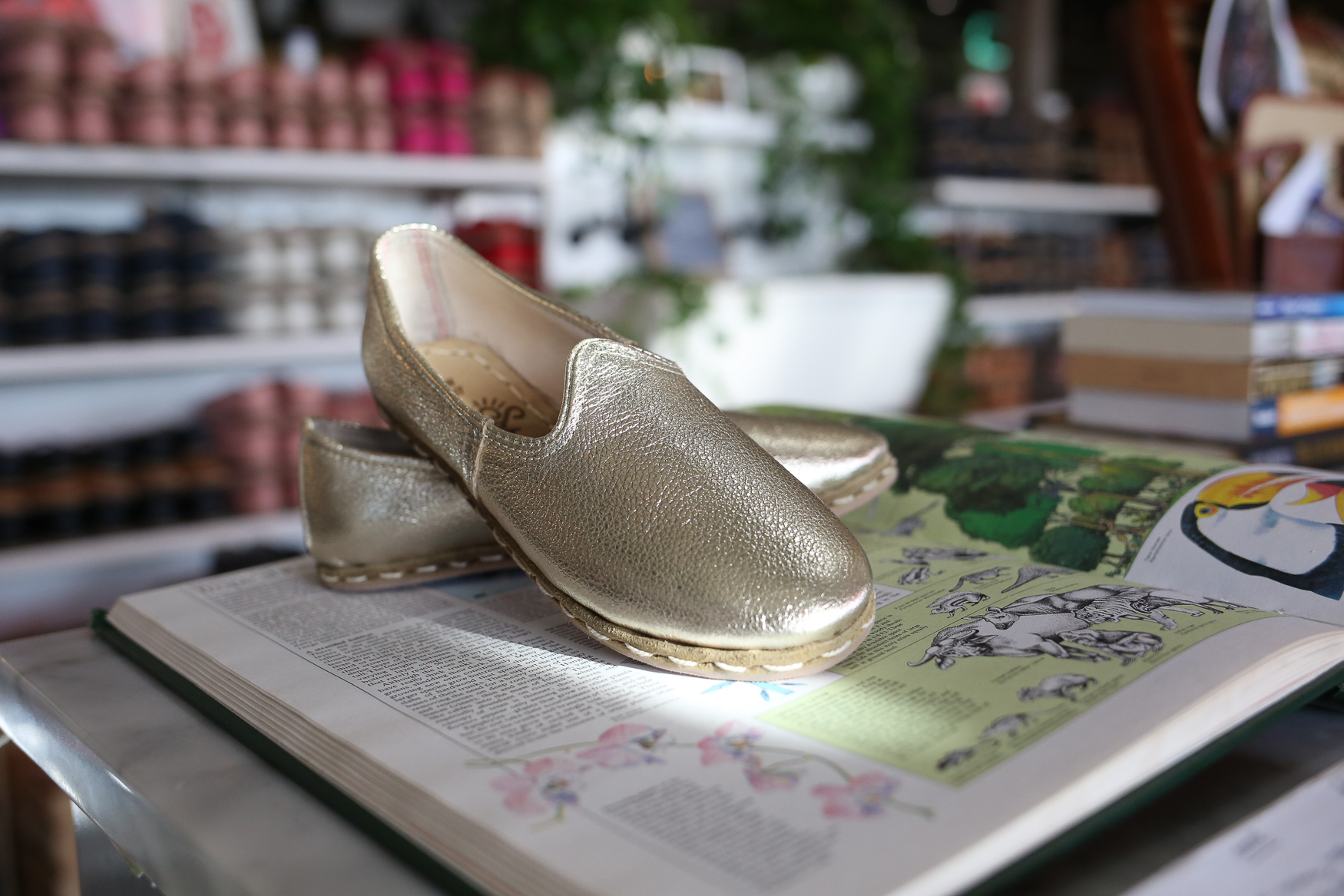Where: Sabah Shoes<br><p>What: A pair of hand-crafted leather loafers made by artisans in Turkey.<br>The giftee: This is the friend who was on the TOMS wagon well before you and is maybe ready to graduate to more sophisticated footwear.<br>Cost: $195<br>(Amanda Andrade-Rhoades/DC Refined)</p><p></p>