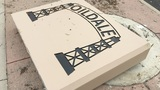 Oildale sign knocked down in car crash