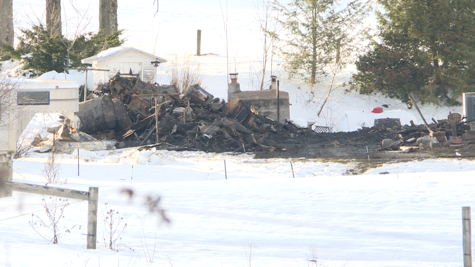The coroner says a man is still missing after two days of searching at his home following a fire on Thursday near Millville, Columbia County. (WOLF)