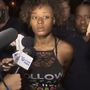 Reporters question woman tied to robberies linked to Teel case as she leaves BPD