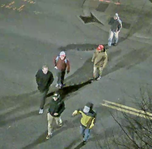 Surveillance photos from Portland Community College Public Safety
