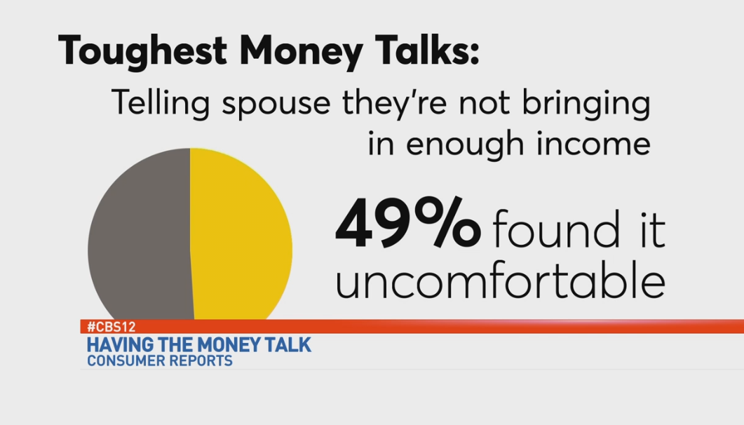 The toughest was telling their spouse that they did not bring in enough money.