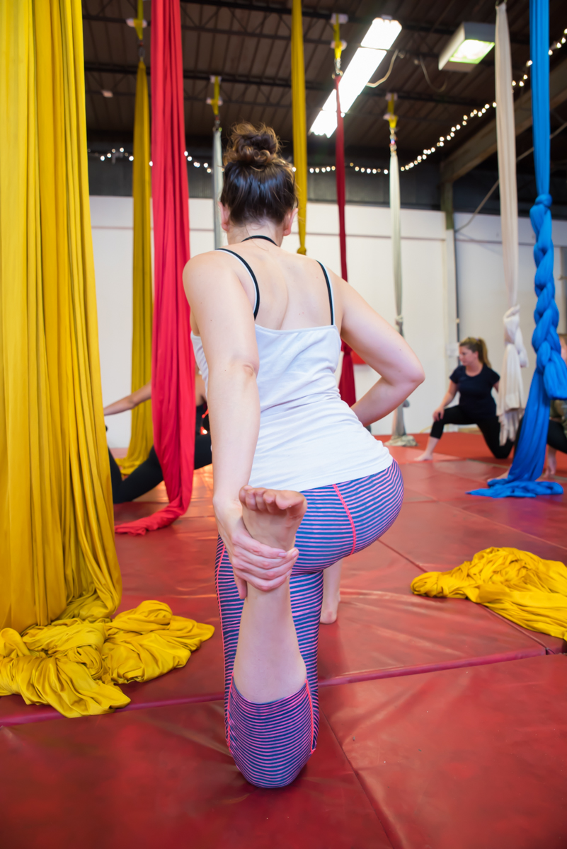 The Cincinnati Circus, an entertainment company specializing in physical performance and event equipment rentals, offers aerial fitness classes for both adults and children alike. These workout classes are just that… a workout. But it's the fact that it's a unique, fun workout that'll keep you coming back for more. Single classes cost $15, but they do offer discounted rates if you sign up for multiple. The classes are located in Golf Manor. WEBSITE: CincinnatiCircus.com/cincinnati-aerial-fitness. ADDRESS: 6433 Wiehe Road (45237) / Image: Sherry Lachelle Photography // Published: 8.28.17