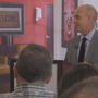 Olympic gold medalist Scott Hamilton joins local cancer survivors to share story
