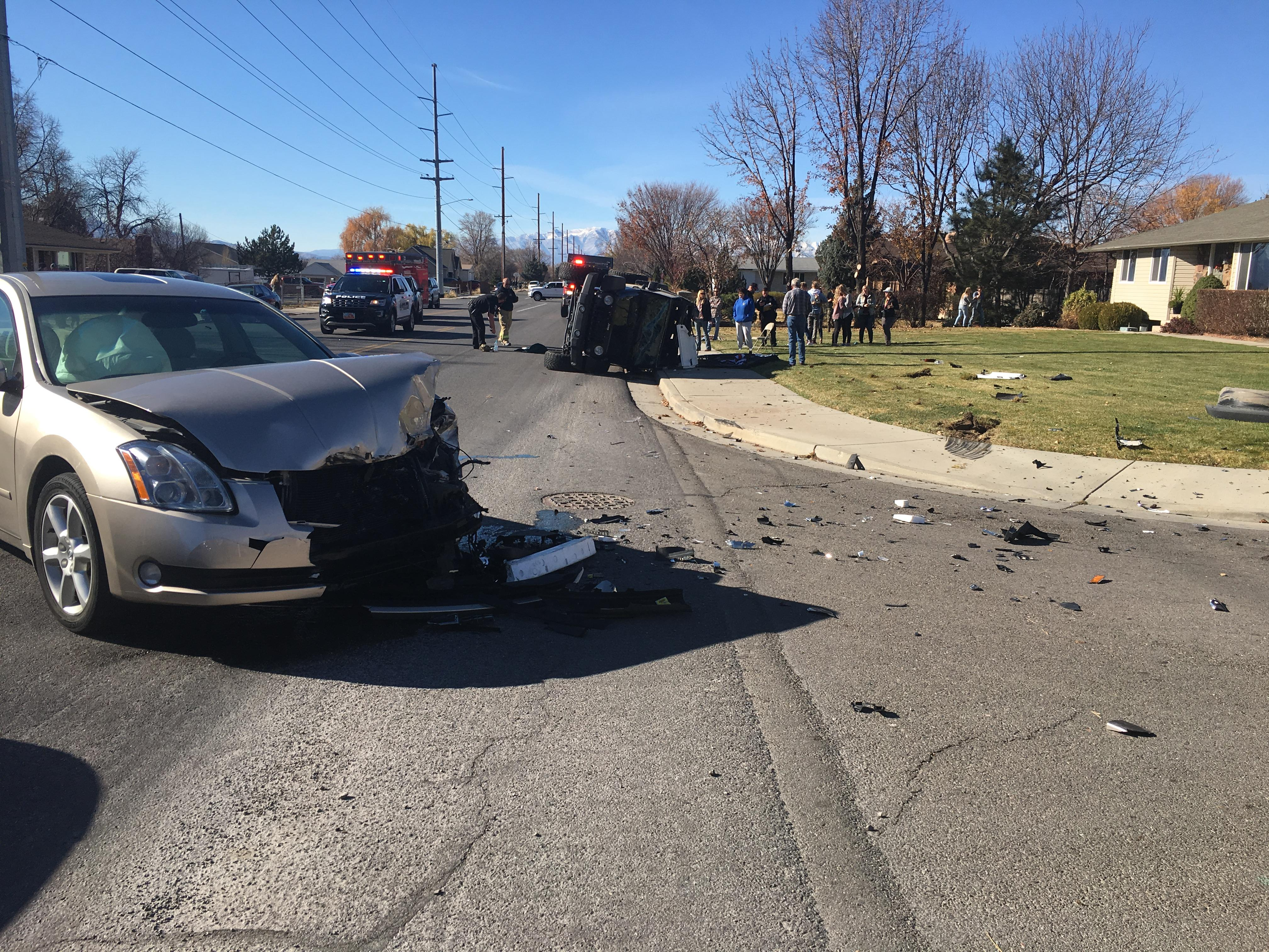 One in critical condition after rollover in Pleasant Grove. (Photo: Pleasant Grove Police Department)