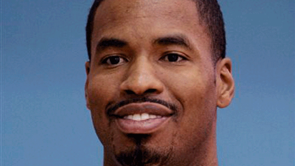 FILE - A Sept. 29, 2008, file photo is of Minnesota Timberwolves' Jason Collins is shown during the basketball team's media day in Minneapolis.  Jason Collins has signed a 10-day contract with the Brooklyn Nets and is set to become the first active openly gay player in the NBA. Collins will join the Nets for their game Sunday night, Feb. 23, 2014, in Los Angeles against the Lakers.   (AP Photo/Jim Mone/File)