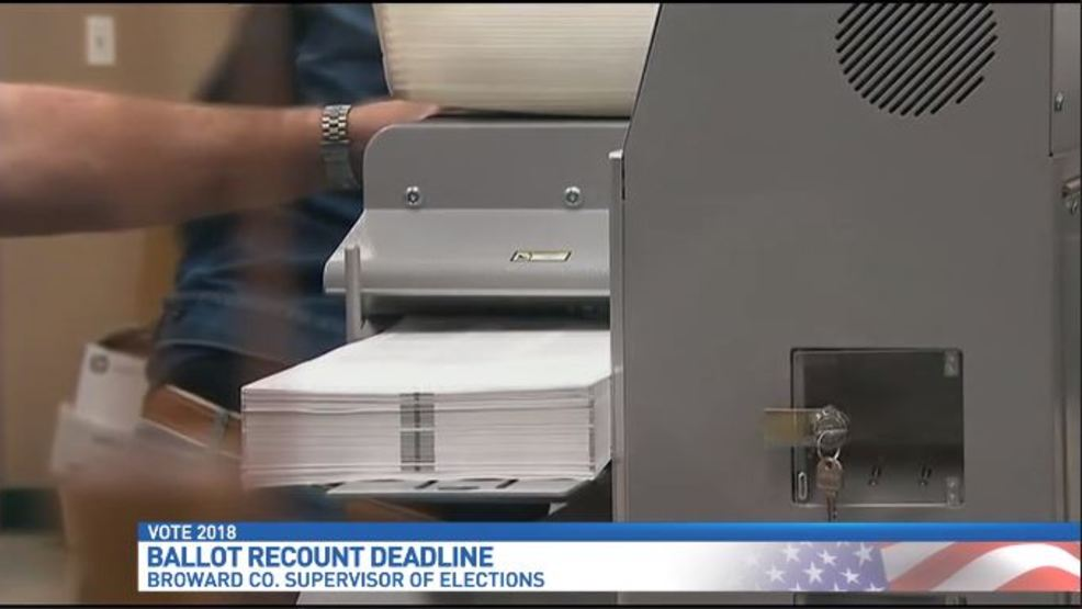 vote tabulation machines fixed workers recounting about 175k votes